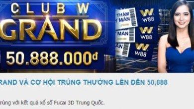 Khuyến mãi khủng tại Club W Grand