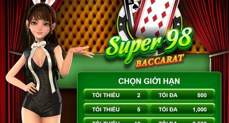sảnh chơi super 98 baccarat
