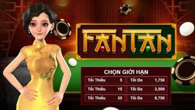 giới hạn chơi Fantan W88