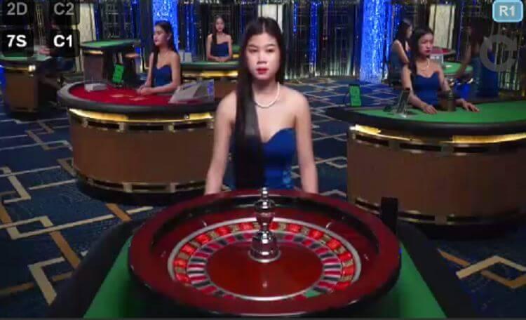 dealer quay vòng roulette