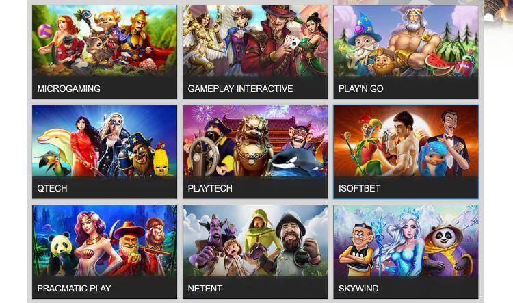 Nhiều trò Slot game hấp dẫn